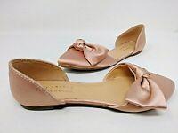 NEW! Lauren Conrad Women's Gazania Flats Pink #114143 D'Orsay Styling 1C pp