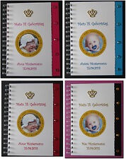 Gästebuch 18. Geburtstag Geschenk Endlich 18 Volljährigkeit - VIP Krone mit Bild