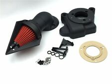X. Spike Triangle Air Cleaner Kits For 2014 Harley Davidson Electra Matte Black