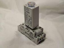 New Allen Bradley 700-HNC44AZ24 Timer Relay and its 700-HN103 Socket