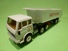 SIKU MERCEDES BENZ 2232 - KIPPER TIPPER HEITKAMP - WHITE 1:55? - GOOD COND