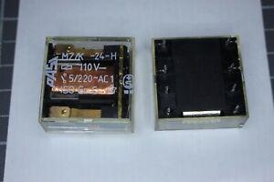 Relais Nr764  PASI MZ/K-24-H 110VDC  2 Wechsler PASI 220VAC 5Amp