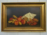 JOHN CALIFANO (American, 1864-1946) - Original Still Life Oil Painting