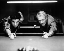 Tom Cruise Paul Newman Playing Pool Color Of Money Rare 16x20 Canvas Giclee