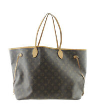 Louis Vuitton M40990 Neverfull GM Monogram Coated Canvas Tote