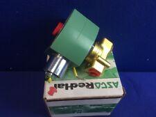 "ASCO 8263H300 Steam/Hot Water Solenoid Valve 2-Way/2-Position 1/4"" (NIB)"