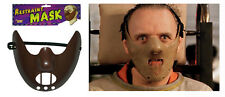 Hannibal Lector Mask Silence Of The Lambs Halloween Restraint Costume Mask