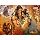 Diamond Paintings cross Full 5D Drill Indian Couple Decoration Mural