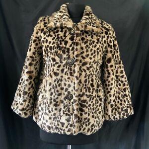 Vintage Jane Norman Faux Fur Jacket Size S