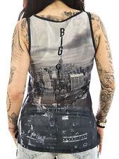 Ärmellose Damen-T-Shirts mit Motiv aus Viskose