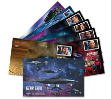 2017 Star TrekTM: Year 2 - Official First Day Covers (OFDCs), Set of 7 - NEW