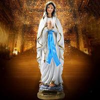 Catholic Resin Madonna Virgin Mary Statue Figure Handmade Figurine Religious