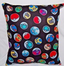 New Handmade Pokemon Pokeball Travel Toddler Cuddle Pillow - Last Three