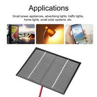 Sistema de panel solar de 12 V + clip de cocodrilo para módulo de cargador de