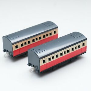 Thomas and Friends 2 pieces RED Express Coach Passenger Tomy train