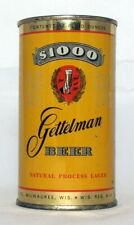New Listing$1000 Gettelman Beer 12 oz. Flat Top Beer Can-Gettelman Brewing, Milwaukee, Wi.