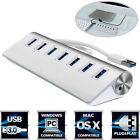 USB 3.0 HUB 5Gbps Aluminium Séparateur 7 Ports Haut Débit Adaptateur Pour Pro