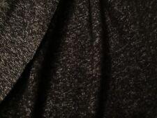 tissu jersey epais  noir/gris, vente au metre