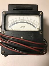 Weston Electrical Instruments AC Voltmeter Model 330 VINTAGE 455 Number 1041