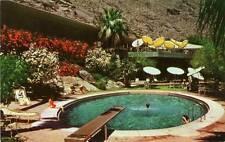 Old Photo. California. Palm Springs Tennis Club - Pool & Diving Board