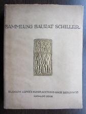 Catalogue de vente Sammlung Baurat Schiller Bijou terre cuite Statuaire Antique