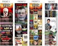 3 Steven STEPHEN KING BOOKMARKS Horror Carrie IT Book