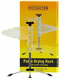 Nuvantee Drying Rack - Noodle Dryer - Spiral Design Holds 4.5 Pounds Fresh Pasta