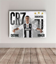 70x50 poster CRISTIANO RONALDO JUVENTUS wall art work CR7 JUVE football legend