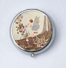 Fairy Painting Pill Case pillbox pill holder fairytale
