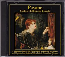 Shelley Phillips And Friends - Pavane - CD (GM119 Gourd 1995 U.S.A.)