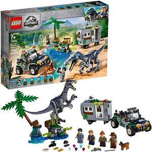 LEGO Jurassic World: Baryonyx Face-Off: The Treasure Hunt (75935) Set 434 Pcs