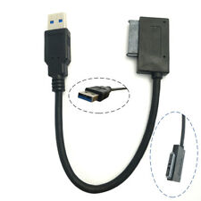 USB 3.0 Convert SATA 7+6 13Pin Adapter Easy To Drive Cable Fit For DVD/CD ROM PC
