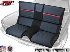 1969-70 Ford Mustang - Mach 1 - Sport R Rear Seat Upholstery ONLY