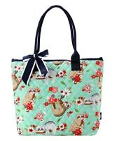 Sloth Floral Bow NGIL® Quilted Purse Tote Bag Free Shipping! NEW