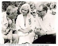 "Marilyn Monroe & Arthur Miller  ""The Misfits"" Promotional Still B&W 1960 Reprint"