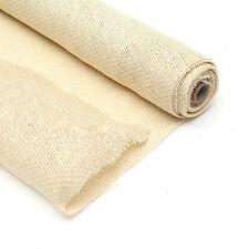 Rotolo di Tessuto Iuta Naturale da 4 Metri (Larghezza 50cm) (Bianco)