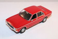 Vanguards Corgi Ford Granada Consul red 1:43 perfect mint condition