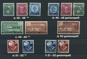 Rheinland - Pfalz 46 - 52 postfrisch oder gestempelt; bitte auswaehlen #g068
