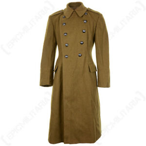 Original Romanian Army Military Wool Winter Warm Greatcoat - All Sizes
