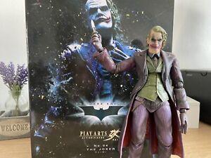 Play Arts Kai Dark Knight Joker Figure With Box