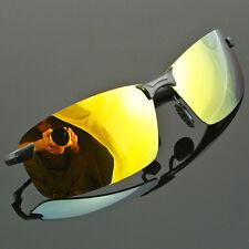 Mens Sunglasses High-End Polarized Sports Eyewear Driving Fishing Sun Glasses