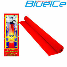 VIP RED CARPET RUNNER 15FT X 2ft WEDDINGS BIRTHDAY PARTY HOLLYWOOD EVENT PROP !
