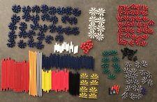 Knex Lot of 200+ Pieces Multi Colors Building Toys Rods Connectors