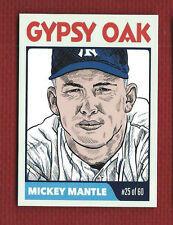 MICKEY MANTLE  2015 ROOKIE CARDS LLC SAMPLE PRINT--STUDIO TEST RUN Very Rare!