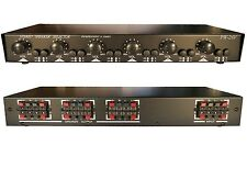 6ZONE Speaker Selector Switch Switcher w Volume Control 900W Commercial Grade