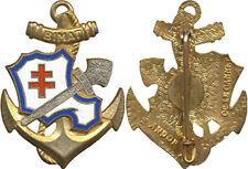 Bataillon Infanterie de Marine TAHITI, guilloché, faîtière argentée,Andor(7009)