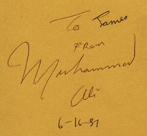 1987 Muhammad Ali Signed Autographed HB Prayer and Al-Islam Book Beckett BAS