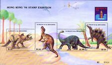 St Vincent & Grenadines 1994 < DinosaurS > Embossed M/S MNH