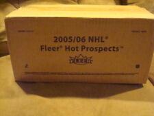 2005-06 Fleer Hot Prospects Hockey 12 Box Factory Sealed Hobby Case CROSBY RC