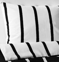 Ikea Tuvbracka Double Duvet Set, 2 Pillowcases, 200 X 200 cm, Black/White BNWT
